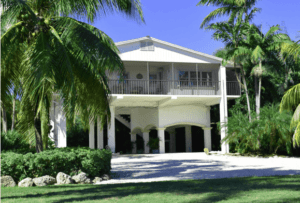 image of front of a home in the Florida Keys. Part of Home page slide show.