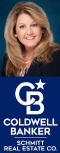 New photo of Sally with New Coldwell Banker logo 1-25-21